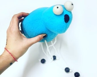 Waterbug Plush - Blue Bug Toy