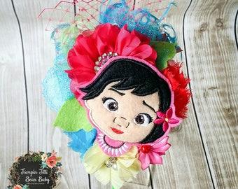 Baby Moana Glamour Bloom Hair Flower headband