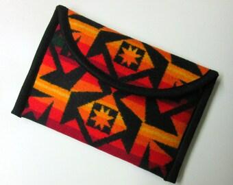 iPad Mini Cover Sleeve Ipad Padded Case Native American Print Blanket Print Wool from Pendleton Oregon