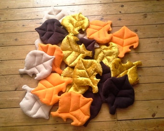 Plushy Autumn Leaves - Fursuit/Cosplay Prop - Pet Bed - Decoration