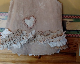 LilMissZ cotton Muslin girls prairie tunic Size 5
