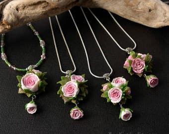 1x Rose Garden pendant