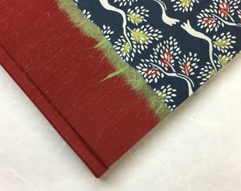 Scrapbook Album Green and Red Trees - great for Wedding Photo Album, Scrapbook Album
