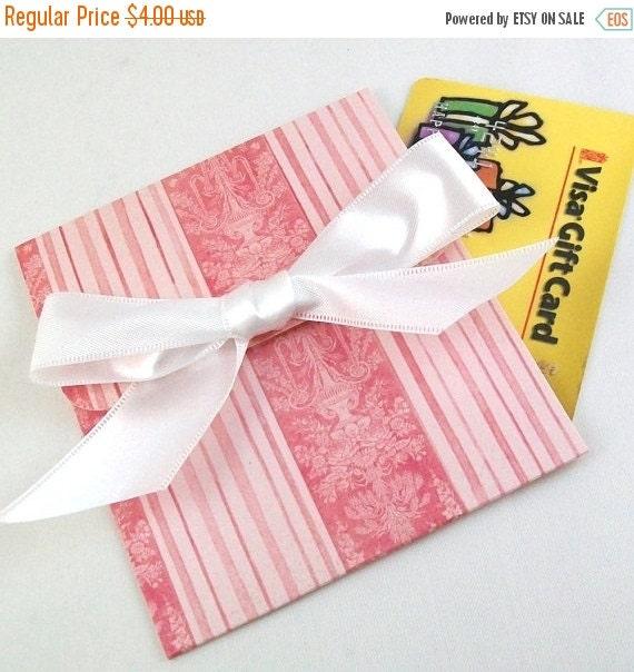 CLEARANCE SALE Wedding Gift Card Holder - Elegant Rose Pink with White Satin Bow - Handmade Gift Card Holder - Baby Shower, Bridal Shower