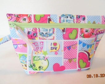 Shopkins Wristlet/Tote/Purse