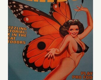 Playboy Magazine August 1976 Issue -  Linda Beatty Playmate of the moth, Entertainment for men