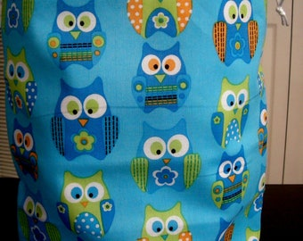 Knitting Project Bag knitting bag Med size KIP BAG knitting bag  project bag,drawstring bag, handmade, crochet project bag, craft bag, tote