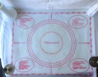 Vintage Tupperware Pastry Pie Crust Mat