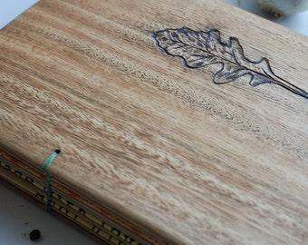 Wood Cookbooks Veggie recipe book Custom