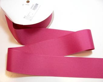 Pink Red Ribbon, Offray Rose Red Grosgrain Ribbon 2 1/4 inches wide x 10 yards