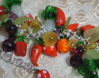 Farmers Market Charm Bracelet