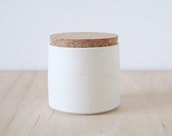 Mishima porcelain jar.