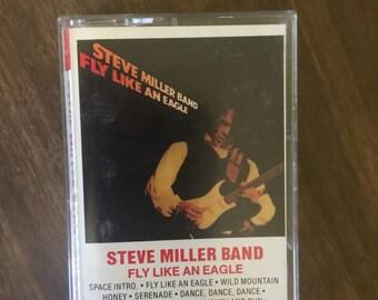 Steve Miller Band Fly Like An Eagle Cassette Tape