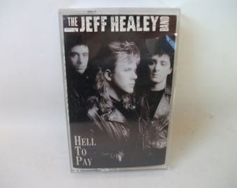 Jeff Healey Band Hell to Pay Cassette Tape