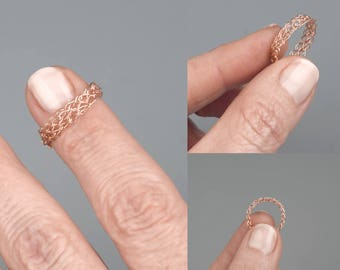 Thin rose gold ring,Thin modern ring,Thin ring,Dainty ring,Delicate ring,Minimalist ring,Simple ring,Unique ring,Gold filled ring,Band ring
