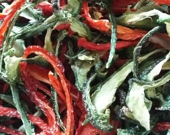 Dried Bell Peppers Red bell Peppers Green bell peppers
