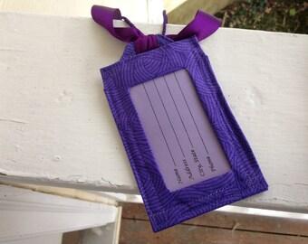 Luggage Tags/Purple