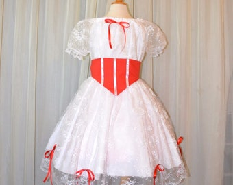 Practically Perfect White Dress