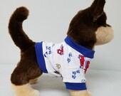 Dog Clothes Fire Truck Tshirt, Chihuahua, Yorkie