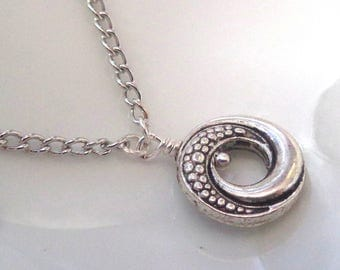 Eternity necklace.Best friend,Pendant,Wife,Girlfriend,Mother.  Eternity Necklace. Round Disc necklace