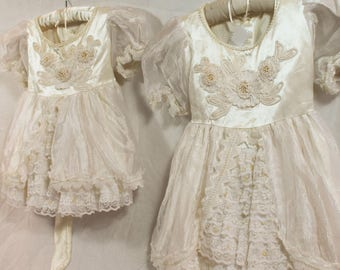 Ruffles Galore Matching Flowergirl Quinceanera Party Dresses- 2 Available-CRBoggs Original