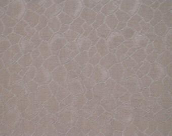 Vintage haori S383,  brown grey silk,