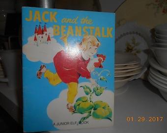 1951,1992 A Junior Elf Book Jack and the Beanstalk