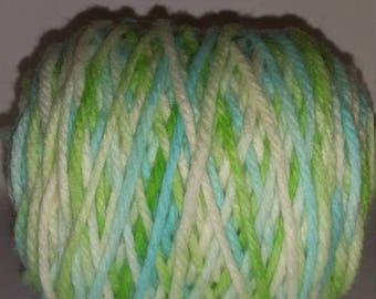 Hand Dyed 100% Merino Yarn (bulky weight approx. 120 yards)