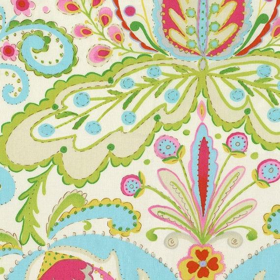 Teja pink kumari garden dena designs fabric dena for Dena designs kumari garden