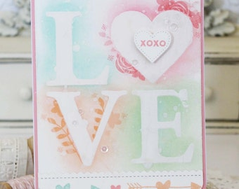 LOVE...Handmade Card