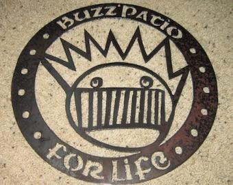 Buzz Patio Sign