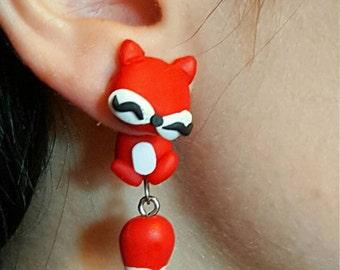 Red Fox Earrings
