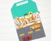 CYBER MONDAY - Car Wallet - Holds 5 of your childs favorite cars - Toy Box