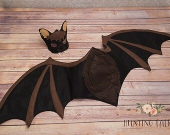 Bat Wings for Pretend Play Dress up