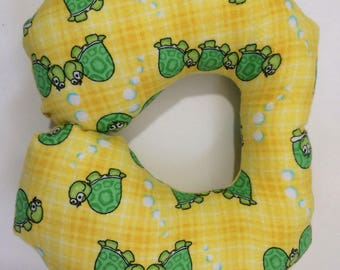 Toddler Travel Pillow, Turtles