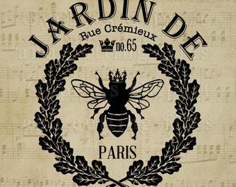 Vintage French Wreath svg, Queen Bee svg, Vintage svg, Paris svg,  Cricut , Cameo Silhouette,  Design Elements for DIY Invitations,