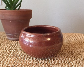 Handmade Red Planter