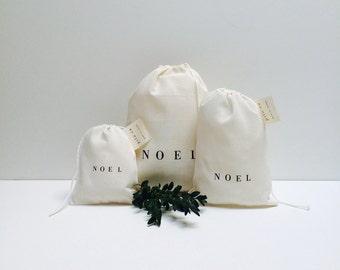 set of 3 noel bags