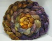 Sale Optim Merino, Baby Camel, Bombyx Silk 40/40/20 Ecru Roving Combed Top - 5oz - Tanglewood 1
