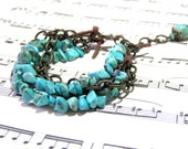 Turquoise Beaded Bracelet Bohemian Most Popular Jewelry Boho Bracelet