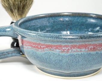 Wet Shaving Dish - Wet Shaving Pottery - Wetshave Ceramic - Ceramic Shaving Dish - Shaving Dish - Wet Shave Dish - In Stock