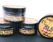 Bourbon Vanilla Lip Scrub whipped brown sugar organic vegan