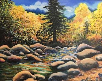 Autumn on the Truckee River