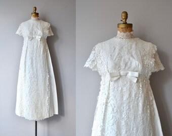 Ondine wedding gown | vintage 1960s wedding dress | 60s lace wedding dress