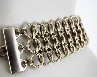 Vintage Thick Gold Chain Link Vintage Belt