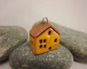 Terracotta Cottage Pendant...Yellow