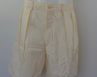 Vintage RALPH LAUREN POLO shorts made in usa size 36 cotton 1980's