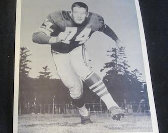 Dave O'Brian 8x10 Press Photo Vintage 1960's  Minnesota Vikings Ofensive Tackle