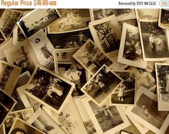 ONSALE Vintage Black and White Photo Lot of Two Dozen