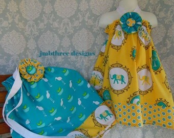 Twin halter dress set size 2t  Ready to Ship